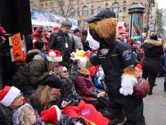 Défilé du père Noël 2017