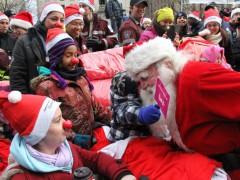 Défilé du père Noël 2015