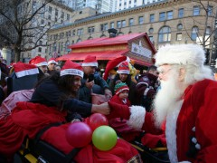 Défilé du père Noël 2016